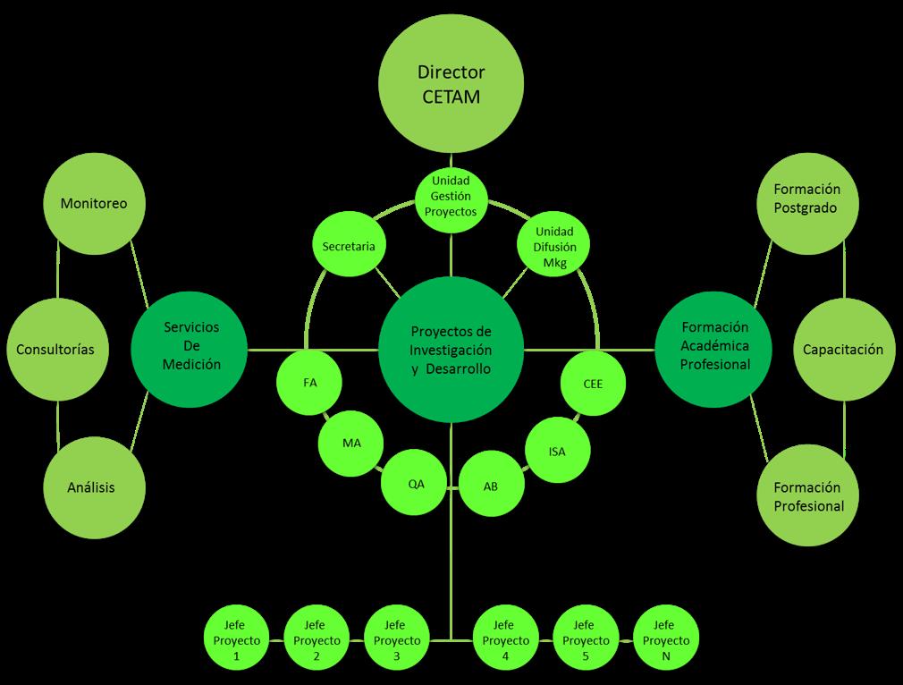 Organigrama Conceptual CETAM